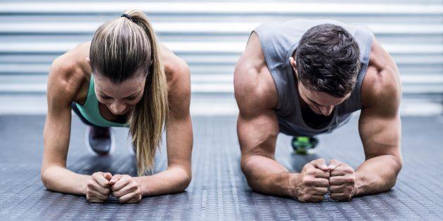 ВИДЕО: Упражнения, которые можно выполнять в паре