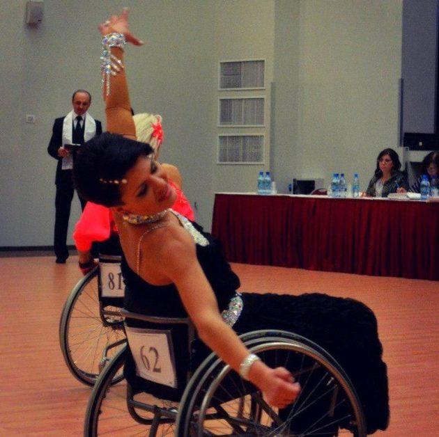 Спортивные танцы на колясках