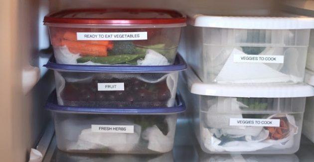 Готовьте овощи заранее