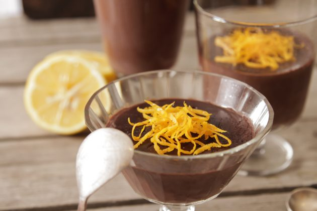 Апельсиново-шоколадный мусс