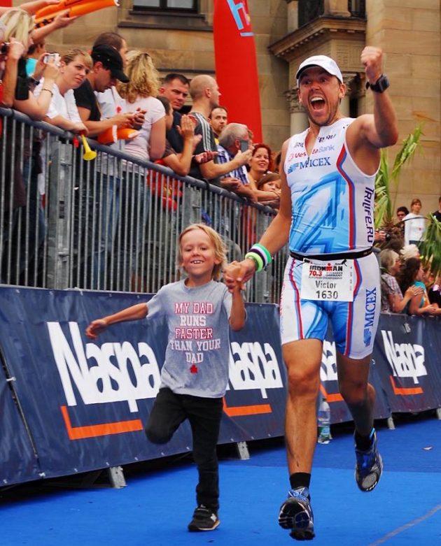 Четырёхкратный Ironman Виктор Жидков: финиш