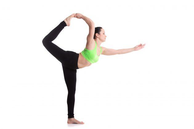 Йога в воде: поза Шивы