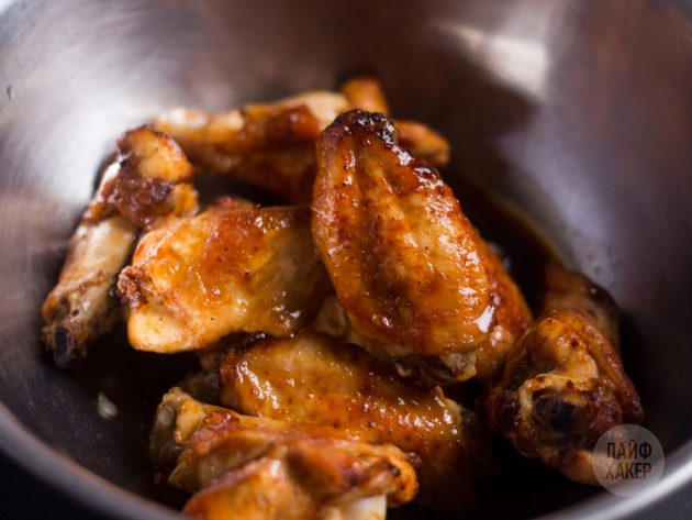 Курица с хрустящей корочкой в глазури