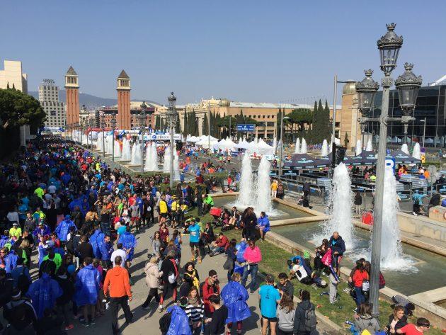 Барселонский марафон