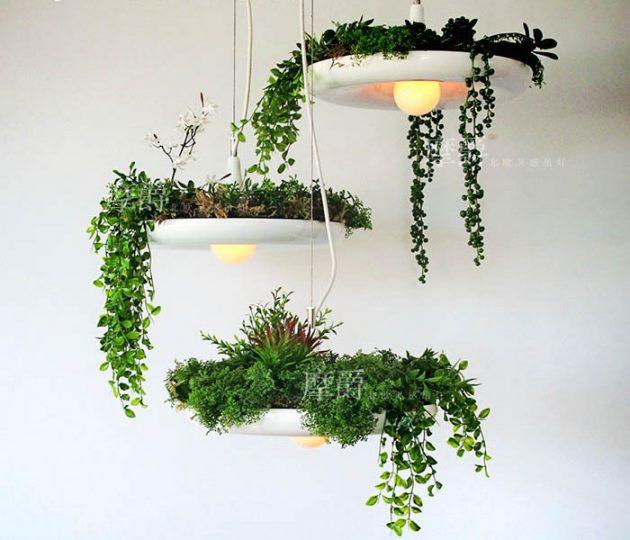 Люстра «Висячие сады»