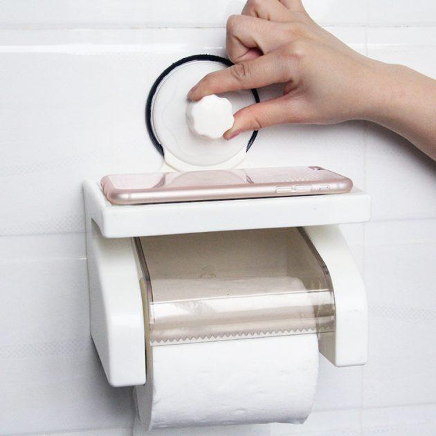 Умный держатель туалетной бумаги