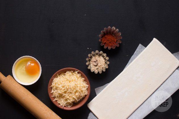 Как приготовить сырные палочки: ингредиенты