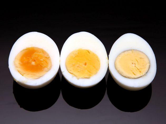 Яйца, приготовленные в пароварке