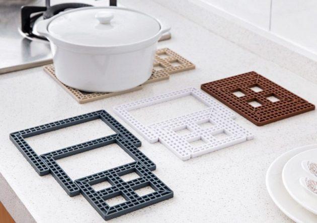 Creative-square-foldable-high-temperature-insulation-pad-pot-mat-bowls-mat-anti-hot-table-mats-coasters