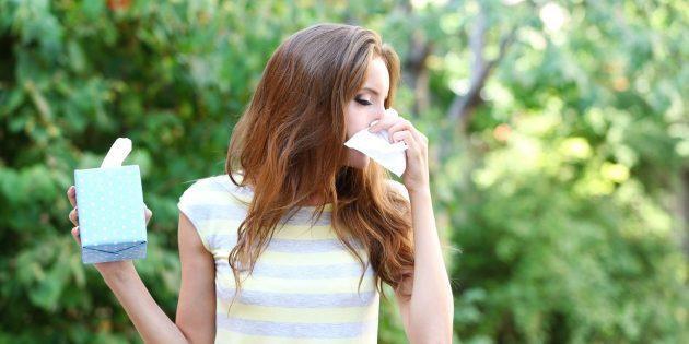 поліноз - причини алергії