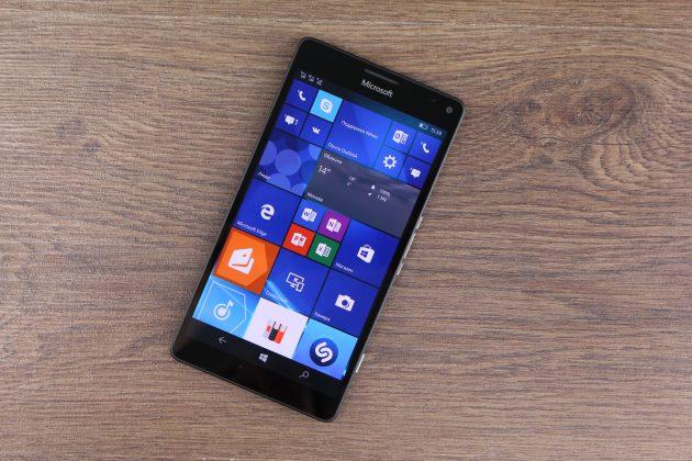 Lumia 950 XL: дисплей