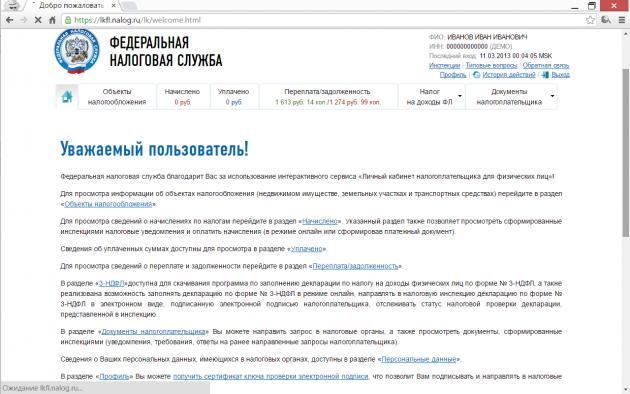 Онлайн-сервис ФНС: получение доступа