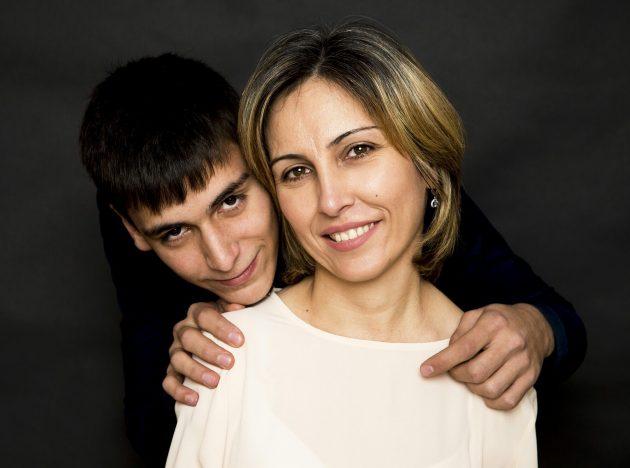 Сакинат Магомедова с сыном