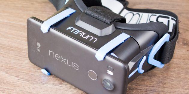 ОБЗОР: Fibrum Pro — вход в виртуальную реальность со стороны России