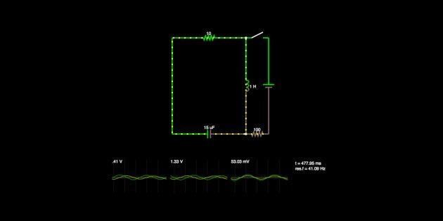 Circuit Simulator — эмулятор электрических цепей в браузере