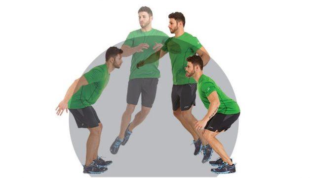 Как быстро бегать: прыжки с поворотом на 180 градусов
