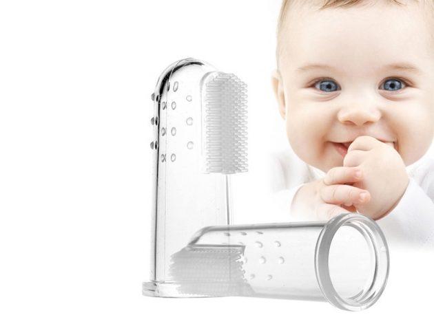 Зубная щётка для самых маленьких