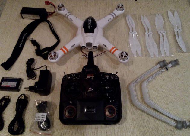 ОБЗОР: квадрокоптер Walkera X350 Pro — опенсорс аналог Phantom