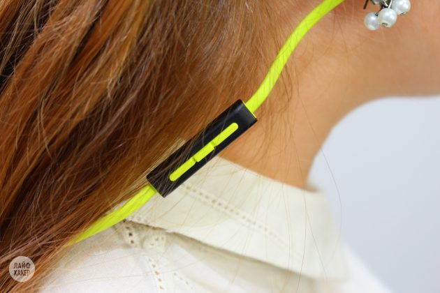 Monster iSport Super Slim: провод