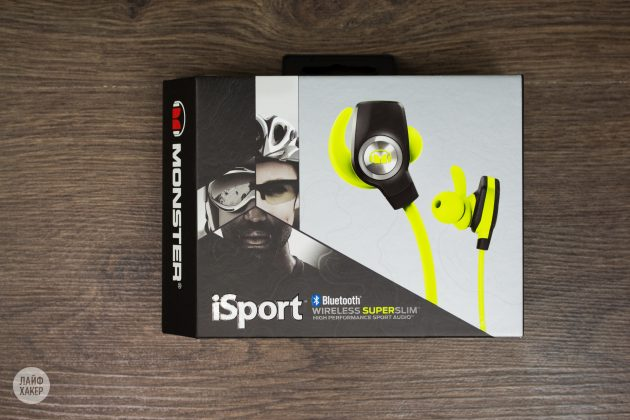 Monster iSport Super Slim: упаковка