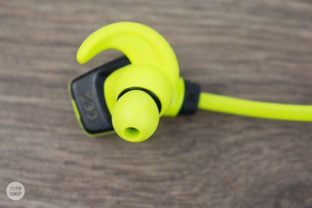 Monster iSport Super Slim: затычки