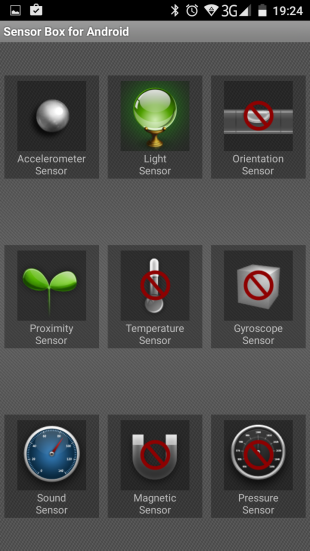 Vernee Thor sensors