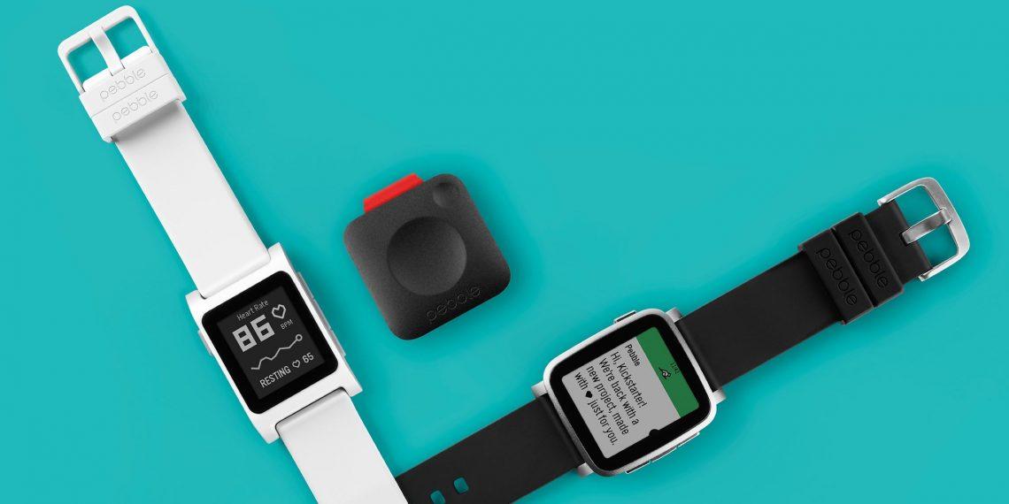 Pebble анонсировала фитнес-трекер и новую линейку часов с пульсометром