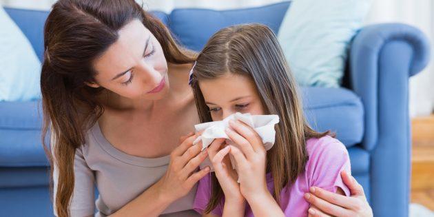 Аллергия у ребёнка