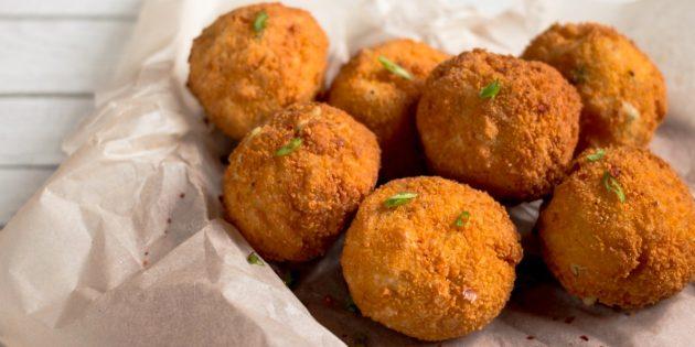 РЕЦЕПТЫ: Простые картофельные шарики