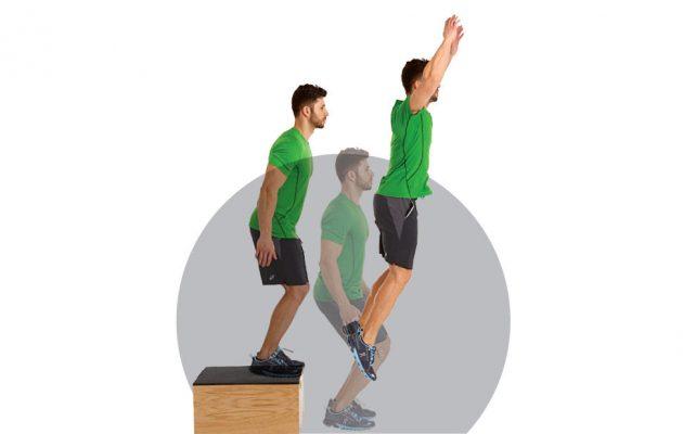 Как быстро бегать: прыжки с коробки