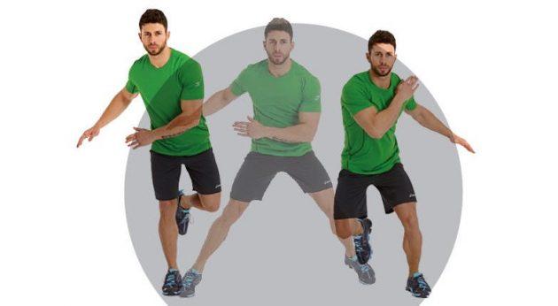 Как быстро бегать: боковые прыжки