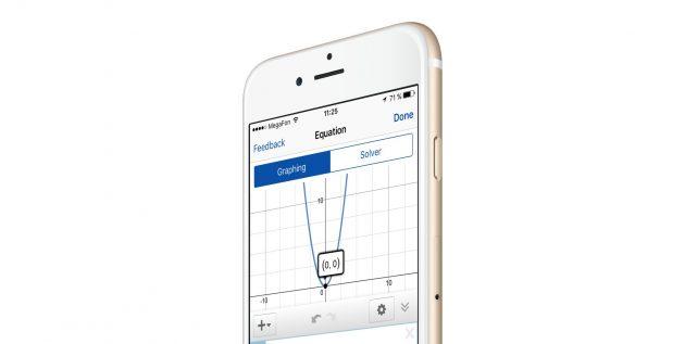Mathpix для iOS распознаёт рукописные примеры, строит графики и решает уравнения