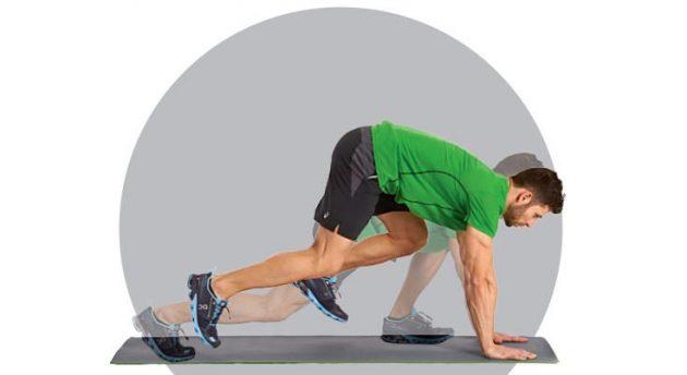 Как быстро бегать: альпинист