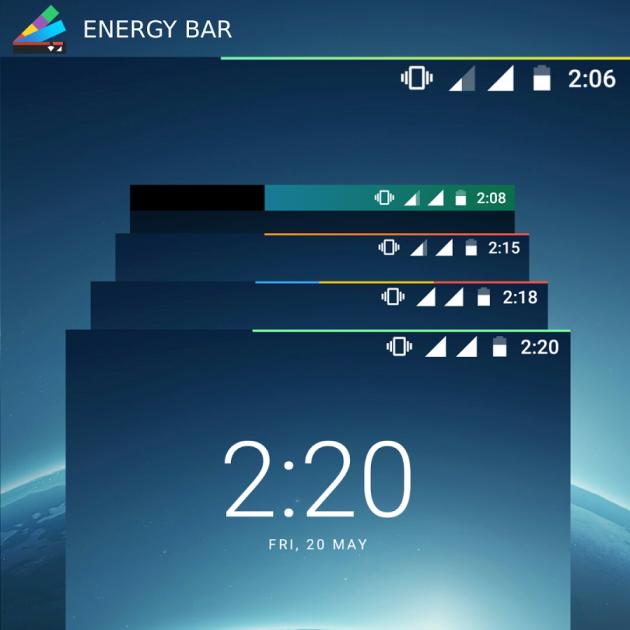 Energy Bar demo