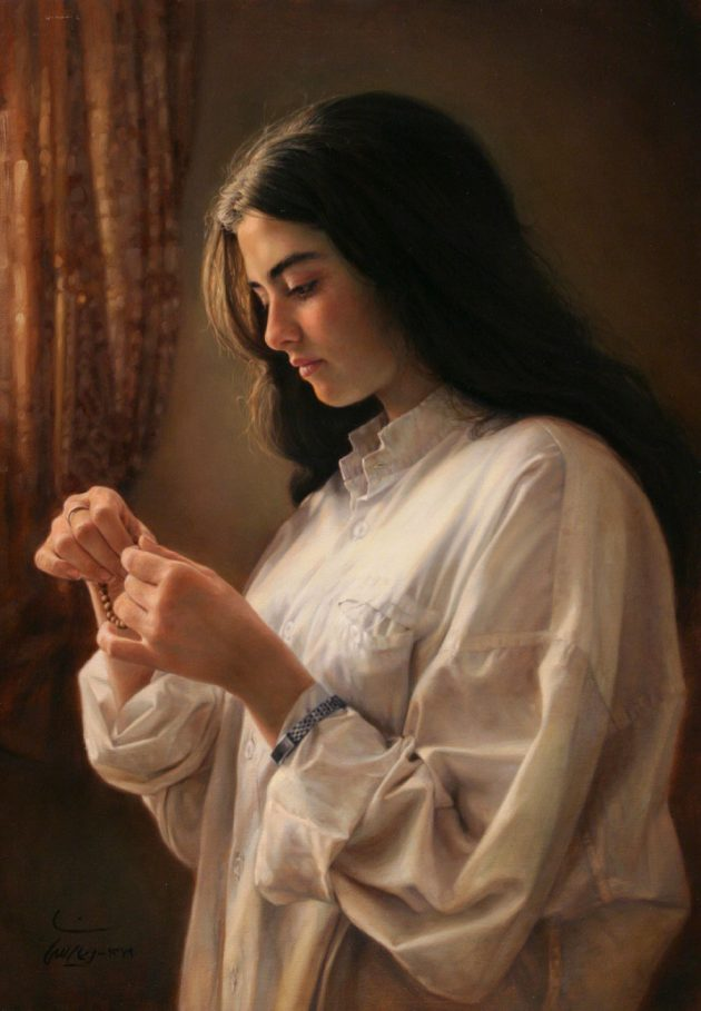 Иман Малеки — «Девушка у окна»/imanmaleki.com