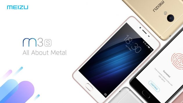 MEIZU M3s add