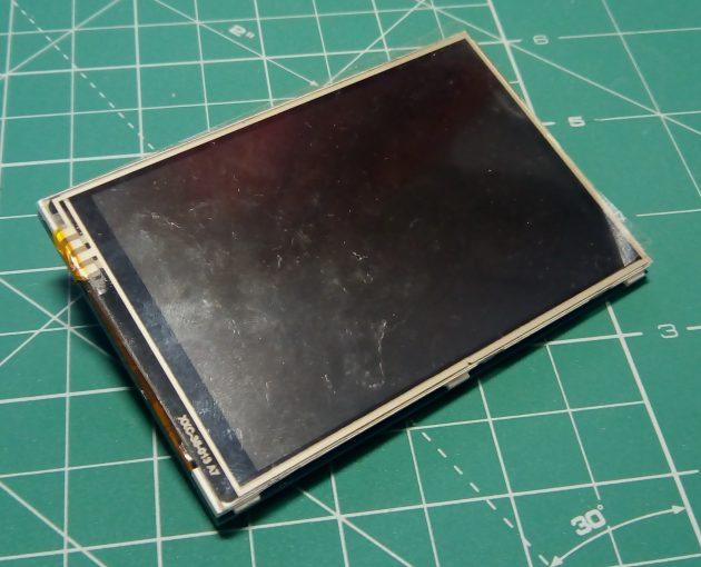 Планшет на базе Raspberry Pi