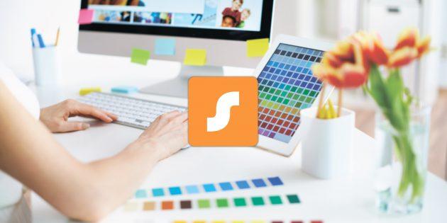 Sprightly — новое приложение от Microsoft для создания коллажей и различных рекламных материалов