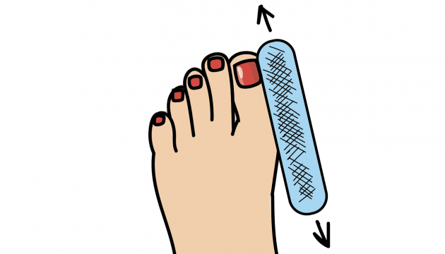 Baby Foot, летний педикюр