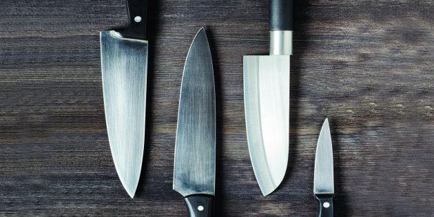 Как правильно точить ножи