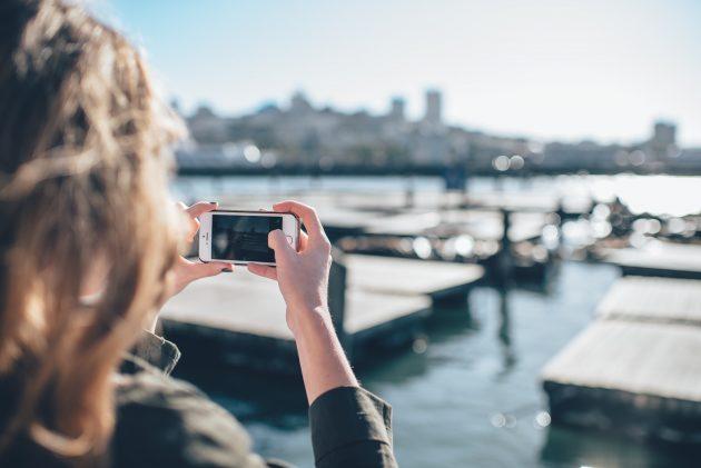 iPhone, holidays, sea
