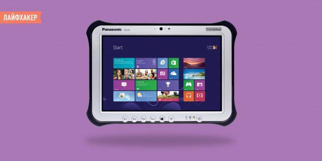 Panasonic Toughpad FZ-G1 — планшет для работы в самых суровых условиях