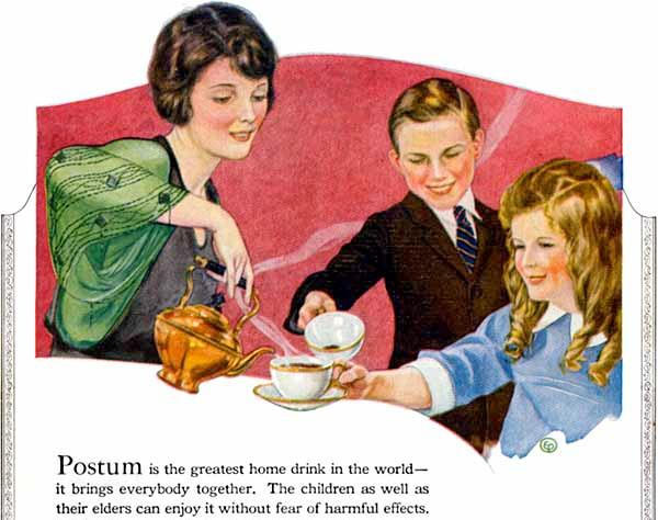 Вред кофе для детей
