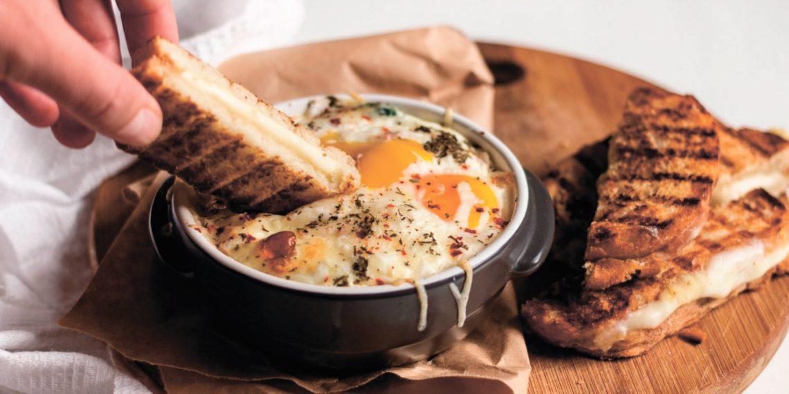 Идеи для завтрака: кремообразная яичница
