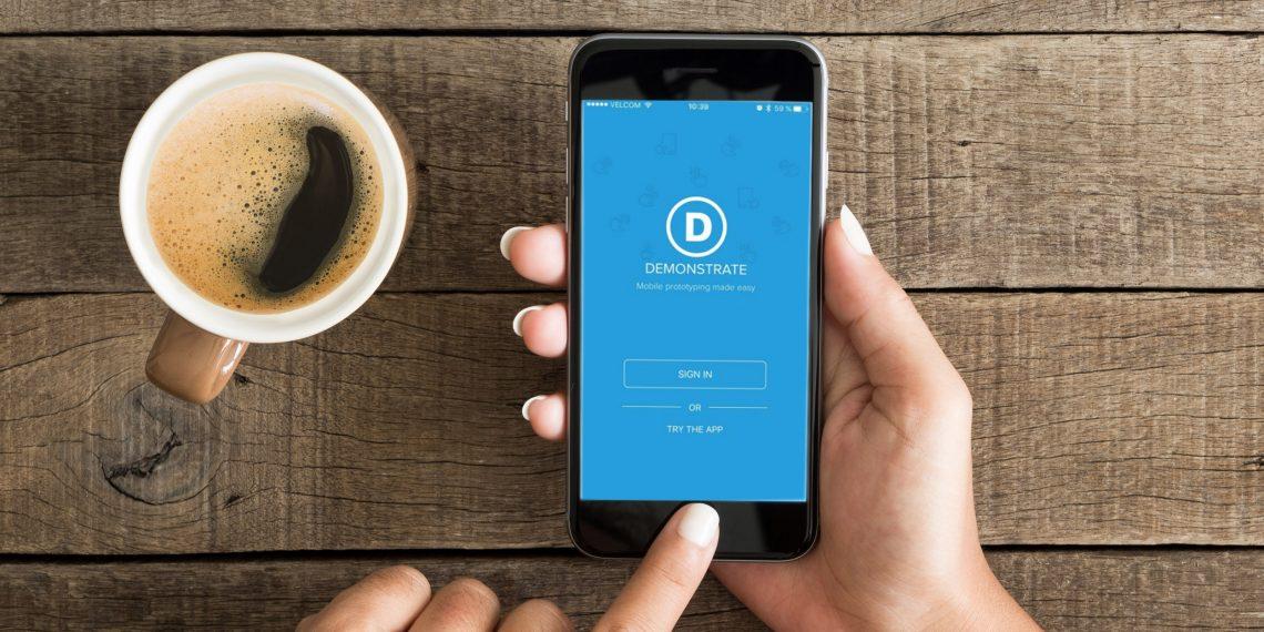 Demonstrate для iOS поможет создать эффектный макет приложения