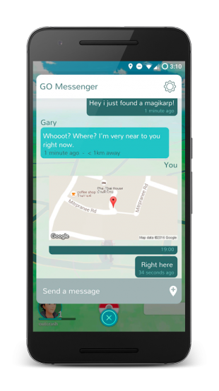Messenger for Pokémon GO 4
