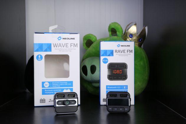 FM-трансмиттеры Neoline: установка и соединение