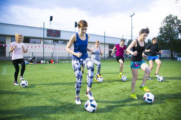«Я создаю себя»: тренировка по футболу