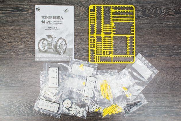 Детский конструктор Solar 14-in-1: комплектация