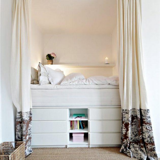 Дизайн маленькой квартиры: кровать-комод
